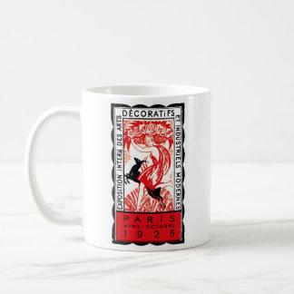 1925 Paris Art Deco Poster Coffee Mug