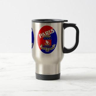 1925 Paris Luggage Label Travel Mug
