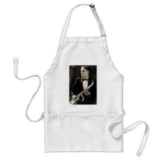 1925 Sax Musician Adult Apron
