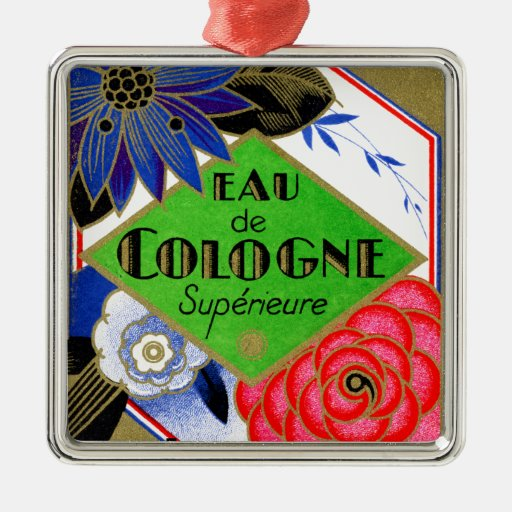 1925 Superieure Flowers of France perfume Ornaments