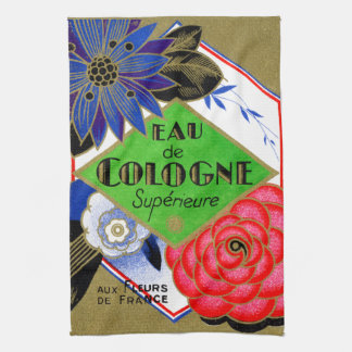 1925 Superieure Flowers of France perfume Towel
