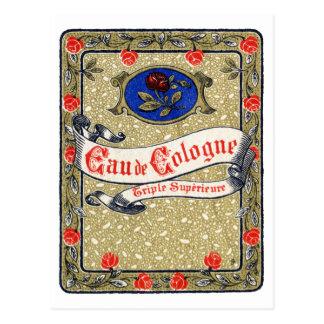1925 Superior Eau de Cologne perfume Postcard