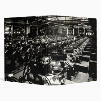 1925 Testing Automobile Motors Binder