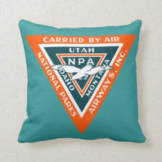 1925 vías aéreas de los parques nacionales cojines