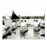 1925 Young Mens Summer Camp Postcard