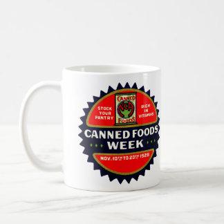 1926 Canned Foods Week Mug