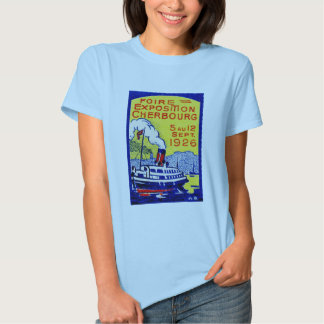 1926 Cherbourg France Poster T Shirts