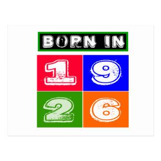 1926 diseños del cumpleaños postales
