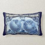 1926 expo filatélica internacional Nueva York Cojin