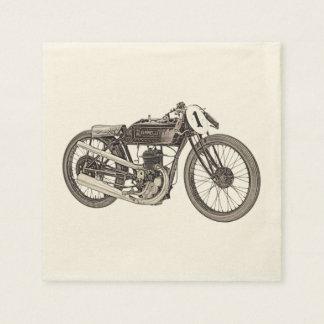 1926 Garelli Racing Motorcycle Paper Napkin