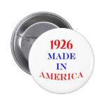 1926 hizo en América Pins