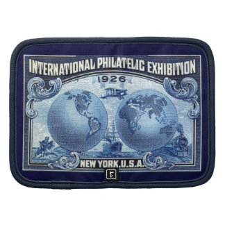 1926 International Philatelic Expo New York Folio Planners