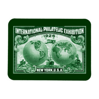 1926 International Philatelic Expo New York Magnets