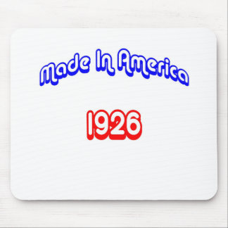 1926 Made In America Mouse Pad