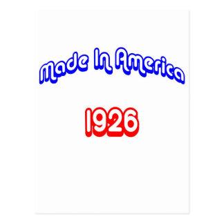 1926 Made In America Postcard