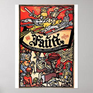 1926) posters de Fausto (