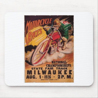 1926 Racing Poster Mouse Pad