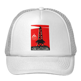 1926 Radio + Broadcasting Poster Hats