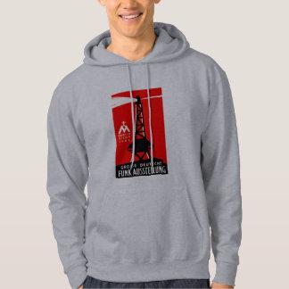 1926 Radio + Broadcasting Poster Sweatshirt