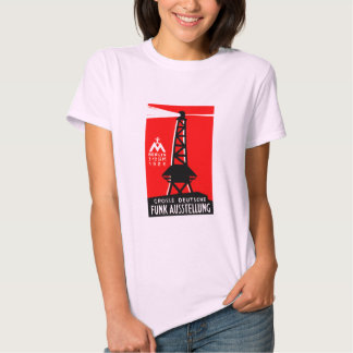 1926 Radio + Broadcasting Poster T-shirt