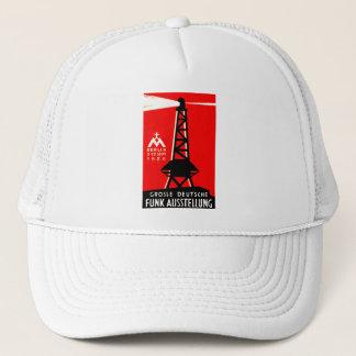 1926 Radio + Broadcasting Poster Trucker Hat