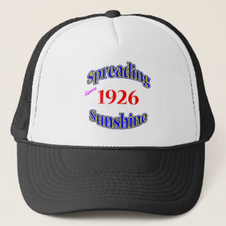 1926 Spreading Sunshine Trucker Hat