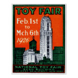 1926 Toy Fair Poster