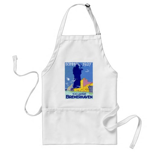 1927 Bremerhaven Germany Aprons