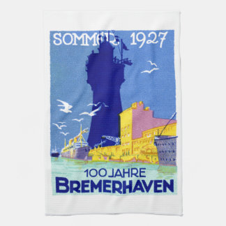 1927 Bremerhaven Germany Hand Towels