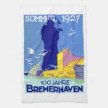 1927 Bremerhaven Germany Kitchen Towels