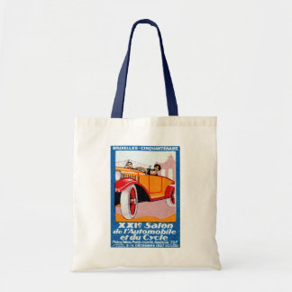 1927 Brussels Automotive Exposition Tote Bag