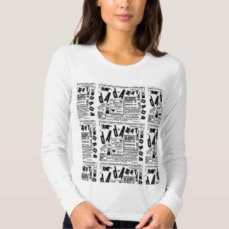 1927) camisetas largas de la manga de la ropa de playera
