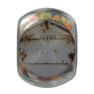 1927 JELLY BELLY CANDY JARS