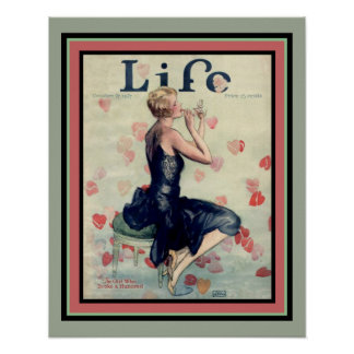 1927 Life Cover Poster 16 x 20