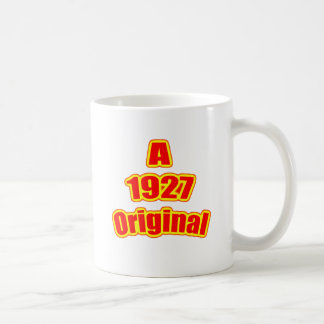 1927 Original Red Coffee Mugs