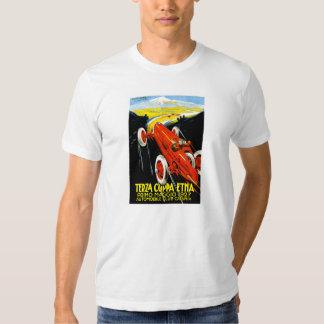 1927 Terza Coppa Etna Auto Road Rally Ad Shirt