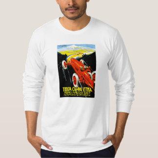 1927 Terza Coppa Etna Auto Road Rally Ad T-shirt