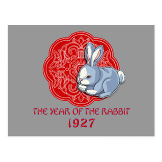 1927 The Year of the Rabbit Gifts Post Cards