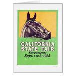 1928 California State Fair Cards