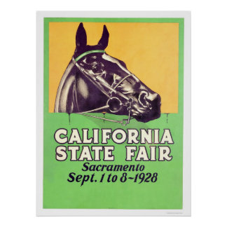 1928 California State Fair Poster