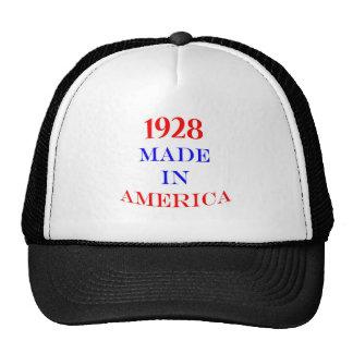 1928 hizo en América Gorra