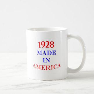 1928 hizo en América Taza De Café