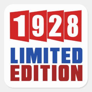 1928 Limited Edition Square Sticker