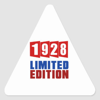 1928 Limited Edition Triangle Sticker