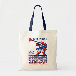 1928 Lwow Eastern International Fair Budget Tote Bag