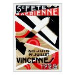1928 Paris Air Show Card
