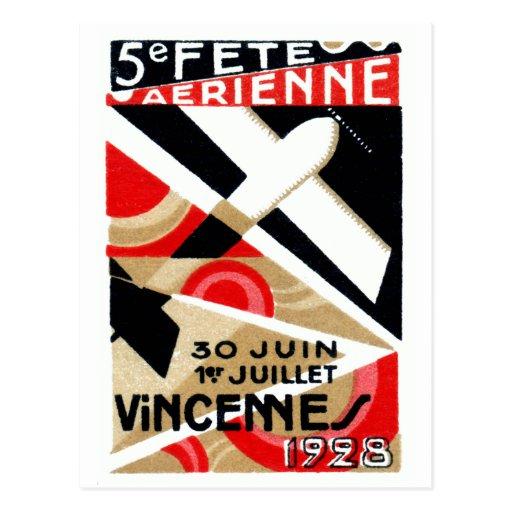 1928 Paris Air Show Postcards