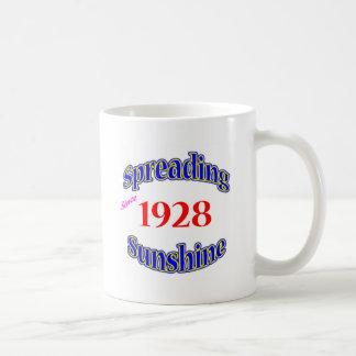 1928 soles de extensión taza de café