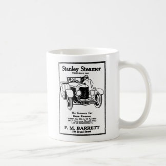 1928 Stanley Steamer auto vintage illustration Coffee Mug