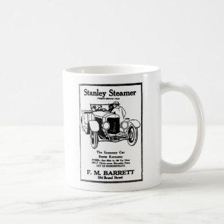 1928 Stanley Steamer auto vintage illustration Classic White Coffee Mug